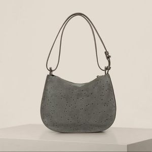 NWT All Saints leather and suede bag